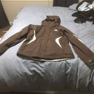 3-1 north face winter jacket